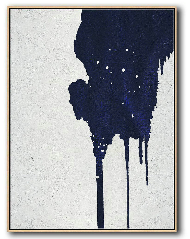 Buy Hand Painted Minimalist Painting Online,Canvas Wall Paintings #F3X7